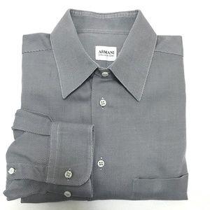 Armani Collezioni Gray Shirt - 15.5 / 39